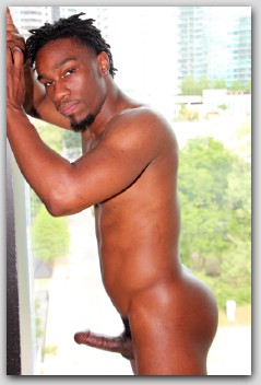 Onyx Omari in a scene with him
